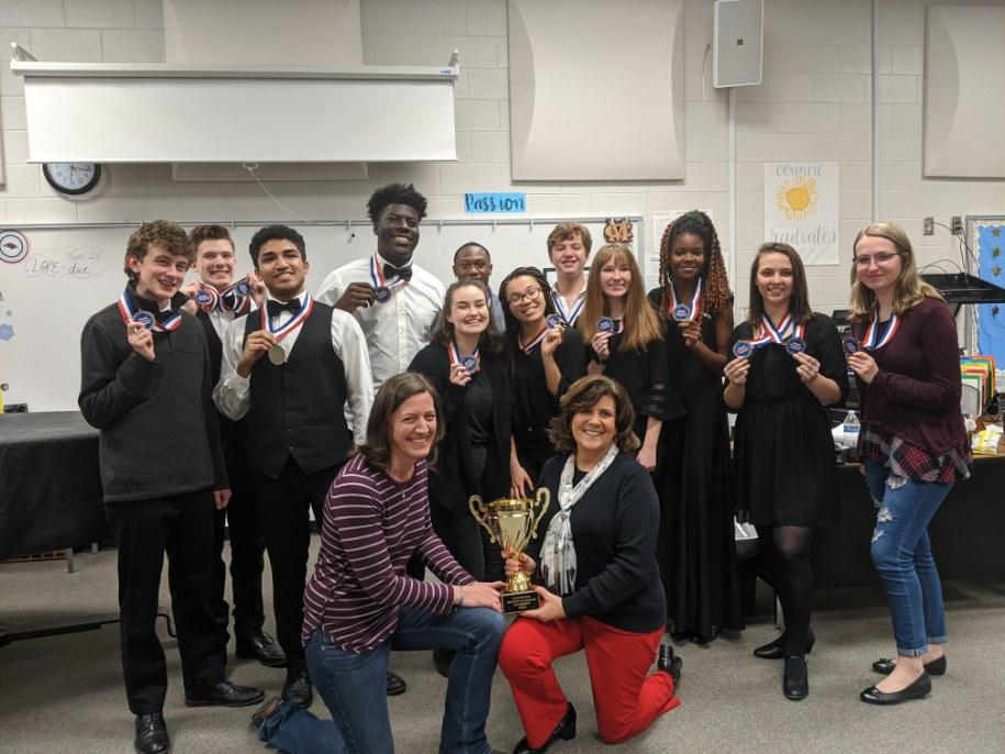 Mill Creek  Region Literary Competition Champs!