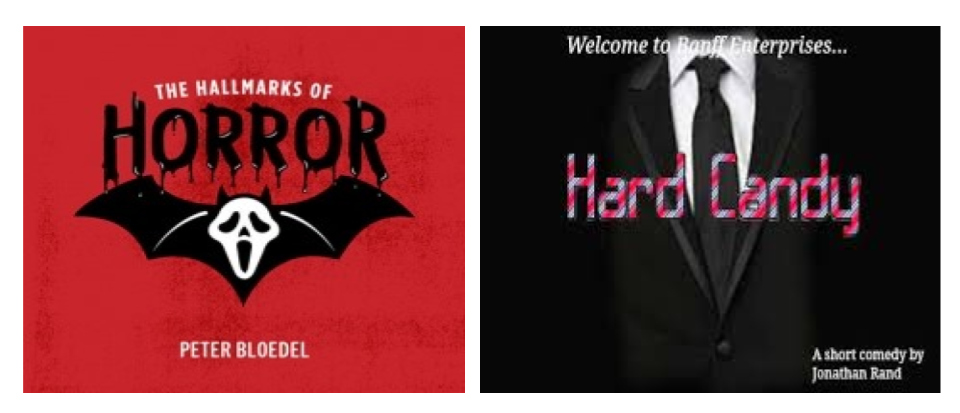 "Join us for ""Hallmarks of Horror"" and ""Hard Candy"""