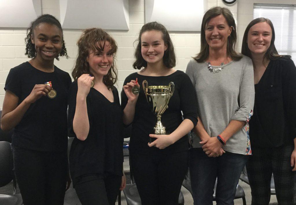 Mill Creek Literary Team are the Region 6-AAAAAAA Champions