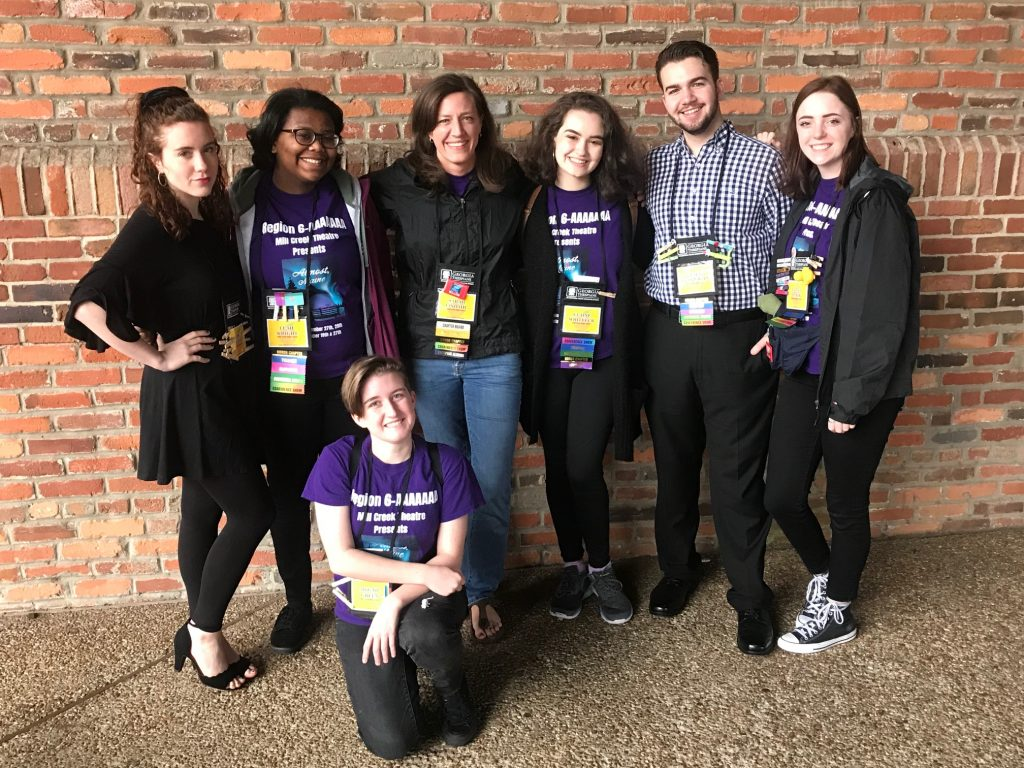 Troupe #6855 Goes to Thescon